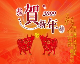 The Year of the Ox!