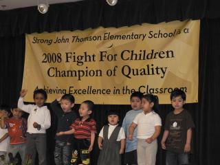 Thomson loves Fight for Children