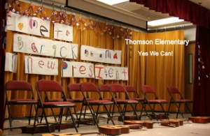 Thomson's Inaugural Assembly